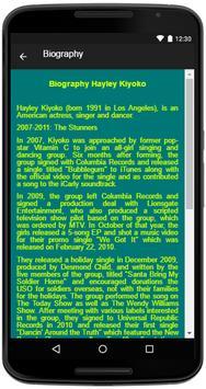 Hayley Kiyoko Song&Lyrics screenshot 4