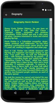 Kevin Roldan Song&Lyrics screenshot 4