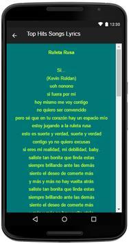 Kevin Roldan Song&Lyrics screenshot 3