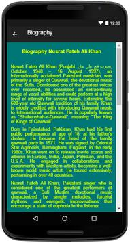 Nusrat Fateh Ali Khan Songs apk screenshot