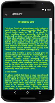 Eels Song&Lyrics screenshot 4