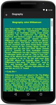 John Williamson Song&Lyrics screenshot 4
