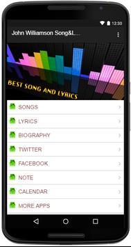 John Williamson Song&Lyrics screenshot 1
