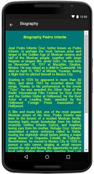 Pedro Infante Song&Lyrics screenshot 4