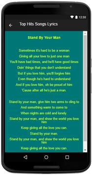 Tammy Wynette Song&Lyrics screenshot 3
