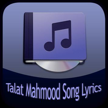 Talat Mahmood Song&Lyrics poster