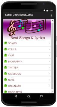 Kendji Girac Song&Lyrics screenshot 1