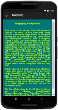 Kendji Girac Song&Lyrics screenshot 4