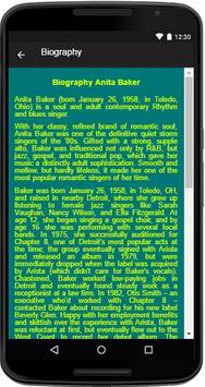 Anita Baker Song&Lyrics screenshot 4