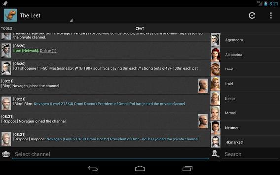 The Leet apk screenshot