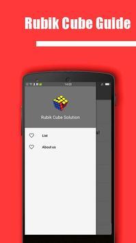 Rubik's Cube Solution poster