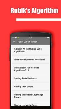 Rubik's Cube Solution screenshot 1