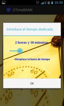 GTimeBank Comparte tu tiempo! apk screenshot