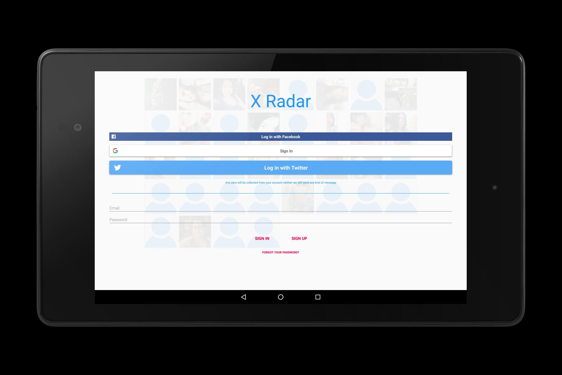 X Radar for Android - APK Download