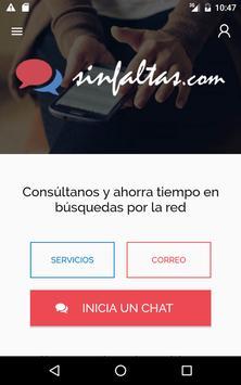 SinFaltas screenshot 2