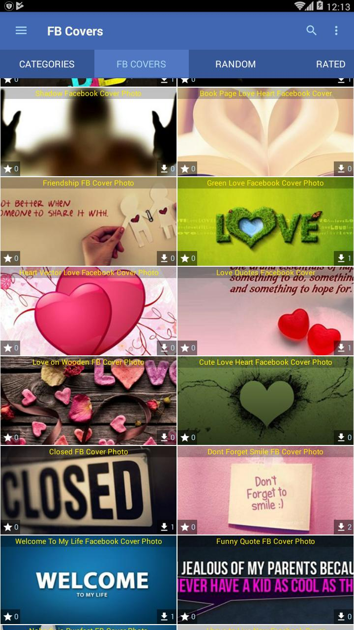 Cover Wallpapers For Fb For Android Apk Download
