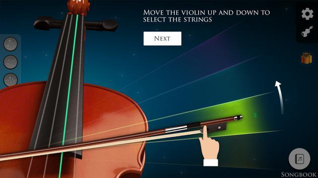 Violin screenshot 2