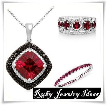 Ruby Jewelry Ideas poster
