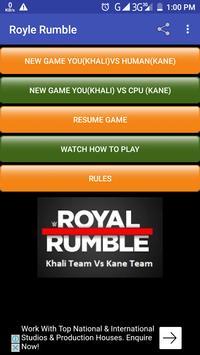Royle Rumble screenshot 1