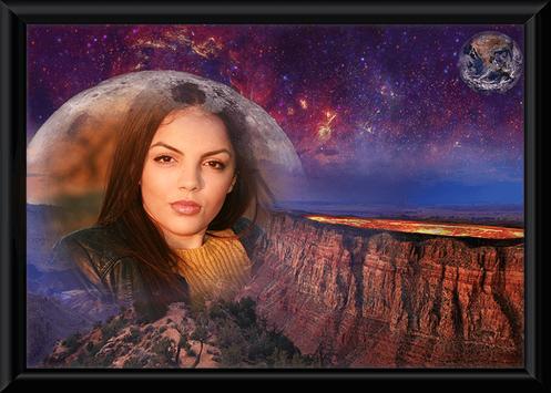 Fantasy Photo Frame poster