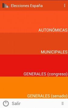 Elecciones España poster