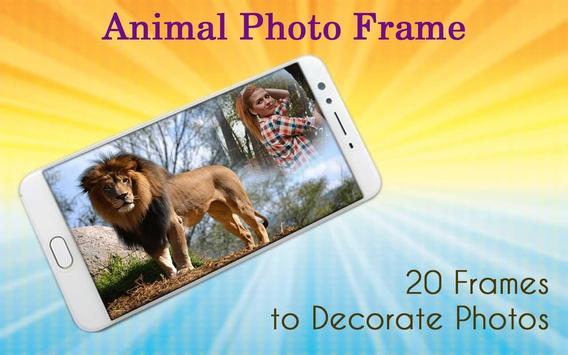 Animal Photo Frame poster