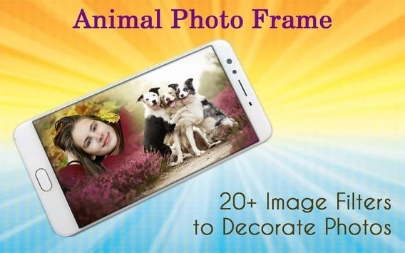 Animal Photo Frame screenshot 1