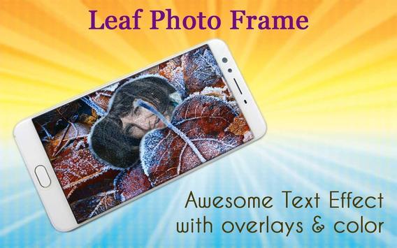 Leaf Photo Frame screenshot 2