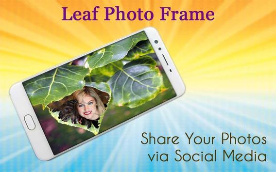 Leaf Photo Frame screenshot 4