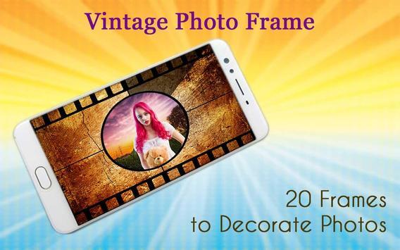 Vintage Photo Frame poster