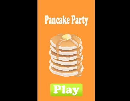 Pantcake Party poster