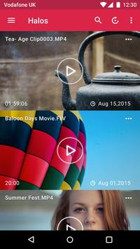 Video Player Halos: All Format apk screenshot