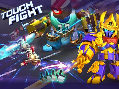 Herobots - Build  to Battle apk screenshot