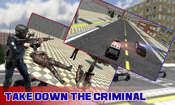 Bank Robber Police Chase 3D poster