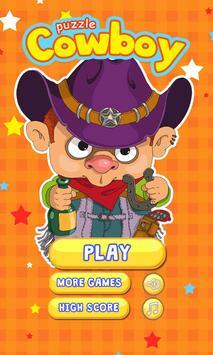 Cowboy Puzzle apk screenshot
