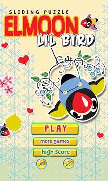 Elmoon Lil Bird sliding poster