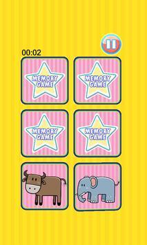 Lion Memory Game apk screenshot