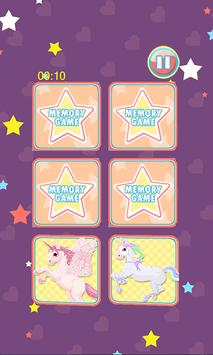 Unicorn Memory Game apk screenshot