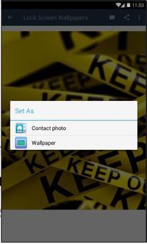 Lock Screen Wallpapers Lite screenshot 2