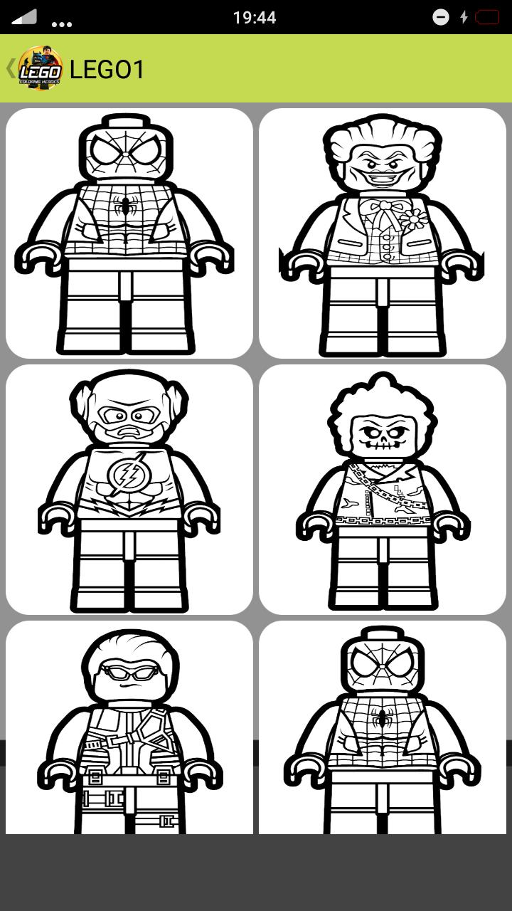 Lego Super Heroes Para Colorear For Android Apk Download