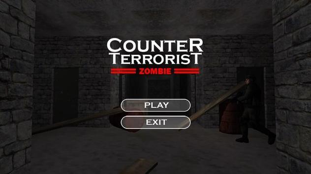 Counter Terroris Strike Zombie poster