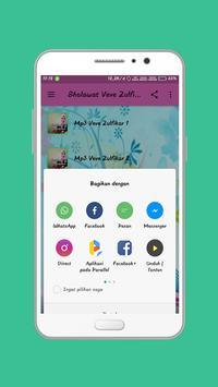 Shalawat Veve Zulfikar Populer Offline screenshot 2