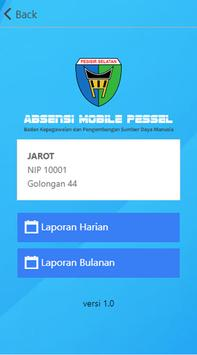 Absensi Mobile Pessel 2 apk screenshot