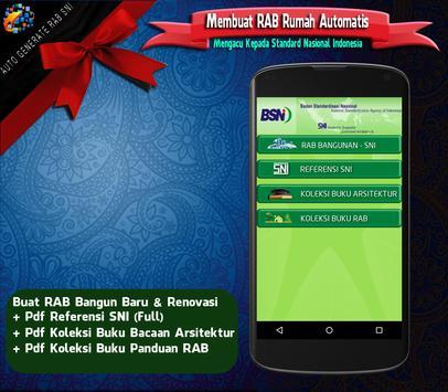 RAB Automatis : Analisa Rencana Anggaran Biaya SNI poster