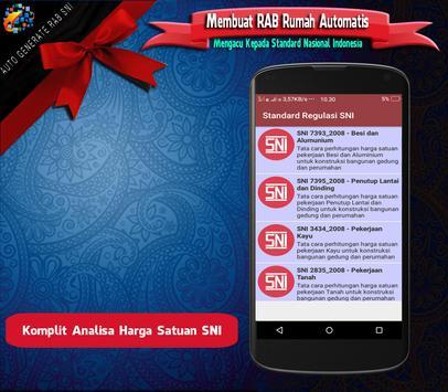 RAB Automatis : Analisa Rencana Anggaran Biaya SNI screenshot 2