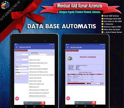 RAB Automatis : Analisa Rencana Anggaran Biaya SNI screenshot 3