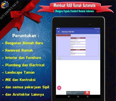 RAB Automatis : Analisa Rencana Anggaran Biaya SNI screenshot 6