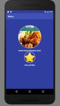 Aneka Resep Masakan : Ayam screenshot 1