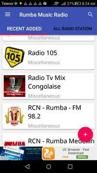 Rumba Music Radio poster