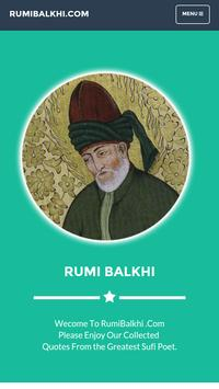 Rumi Quotes poster